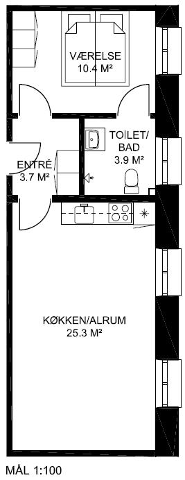 Plantegning - Lejlighed 11