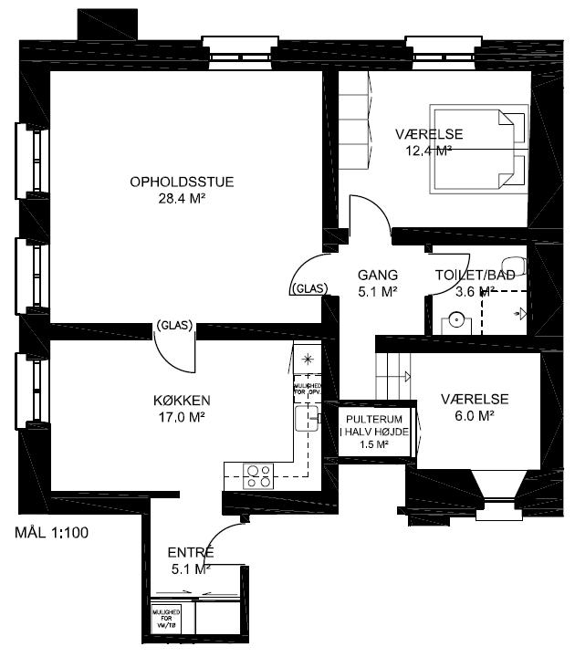 Plantegning - Lejlighed 24